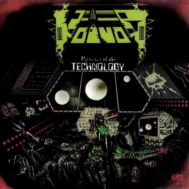 27. VOIVOD - Killing Technology